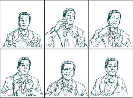 how-to-tie-bow-tie-diagram